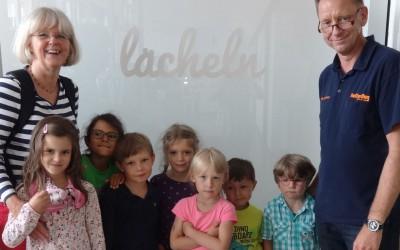 Berliner Kinder zu Gast im Dentallabor Ketterling